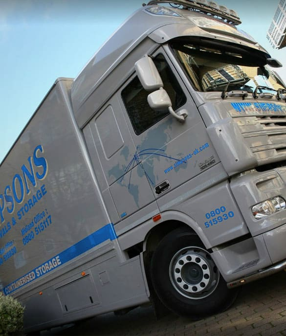 European removals road train