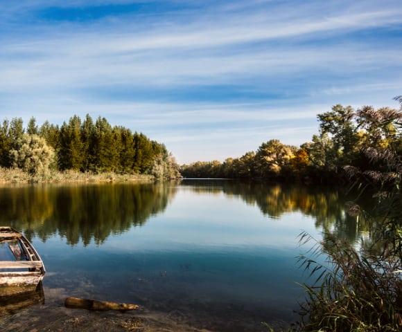 Slovakia River Danube autumn